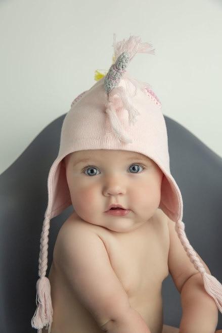 Angel Dear Unicorn Hat - Pink