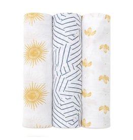 aden + anais aden + anais Silky Soft Swaddles 3-pack