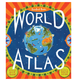 putumayo World Atlas Sticker Book