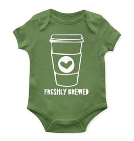 Emerson and Friends Freshly Brewed Onesie