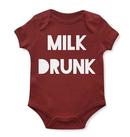 Emerson and Friends Milk Drunk Onesie