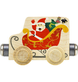 Maple Landmark Name Train Santa Sleigh Car