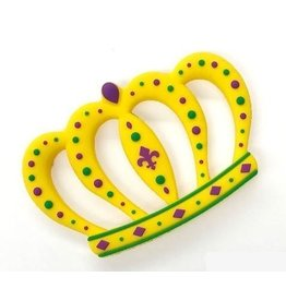 Maison Nola Mardi Gras Crown Silicone Teether