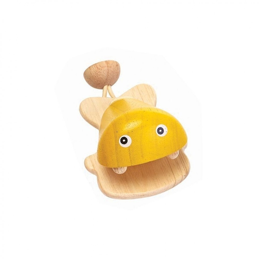 PlanToys PlanToys Wooden Fish Castanet