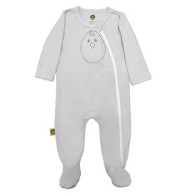 Nested Bean Nested Bean Zen Footie - Grey Mist