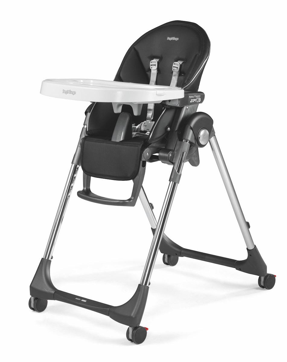 Agio Baby Peg Perego Prima Pappa Zero 3 High Chair - Hi-Tech Licorice