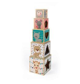 Janod Toys Sophie la Giraffe Wooden Pyramid