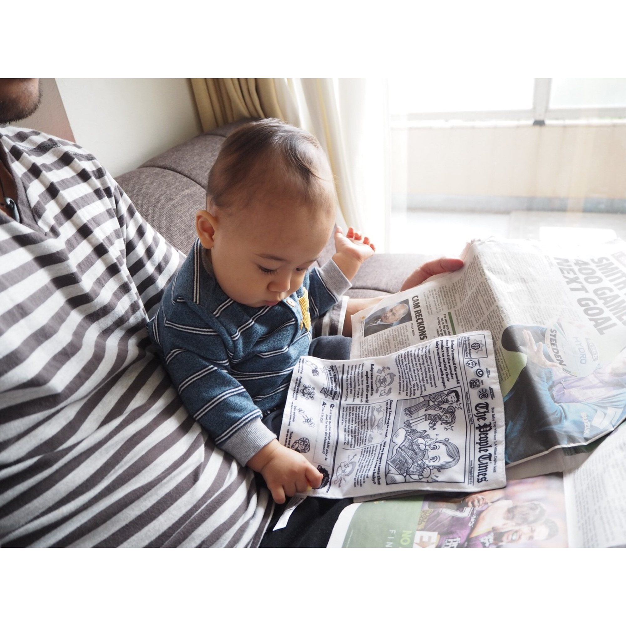 People Toy Company Inc. Baby Newspaper