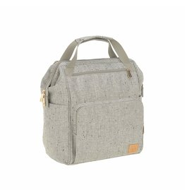LASSIG LASSIG Glam Goldie Backpack Diaper Bag - Boucle Beige