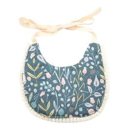 Emerson and Friends Floral Fringe Boho Baby Bib