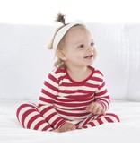 KicKee Pants KicKee Pants Long Sleeve PJ Set - Candy Cane Stripe