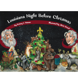 Books Louisiana Night Before Christmas