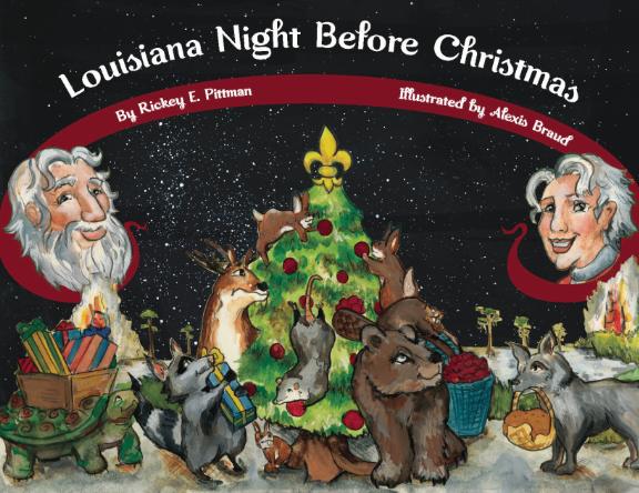 Books Louisiana Night Before Christmas