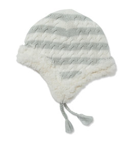 Angel Dear Sherpa Pilot Hat - Grey