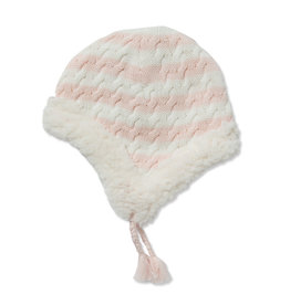 Angel Dear Sherpa Pilot Hat - Pale Pink