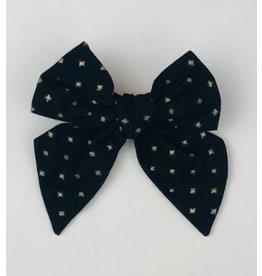 Nola Tawk Black & Gold Sailor Bow