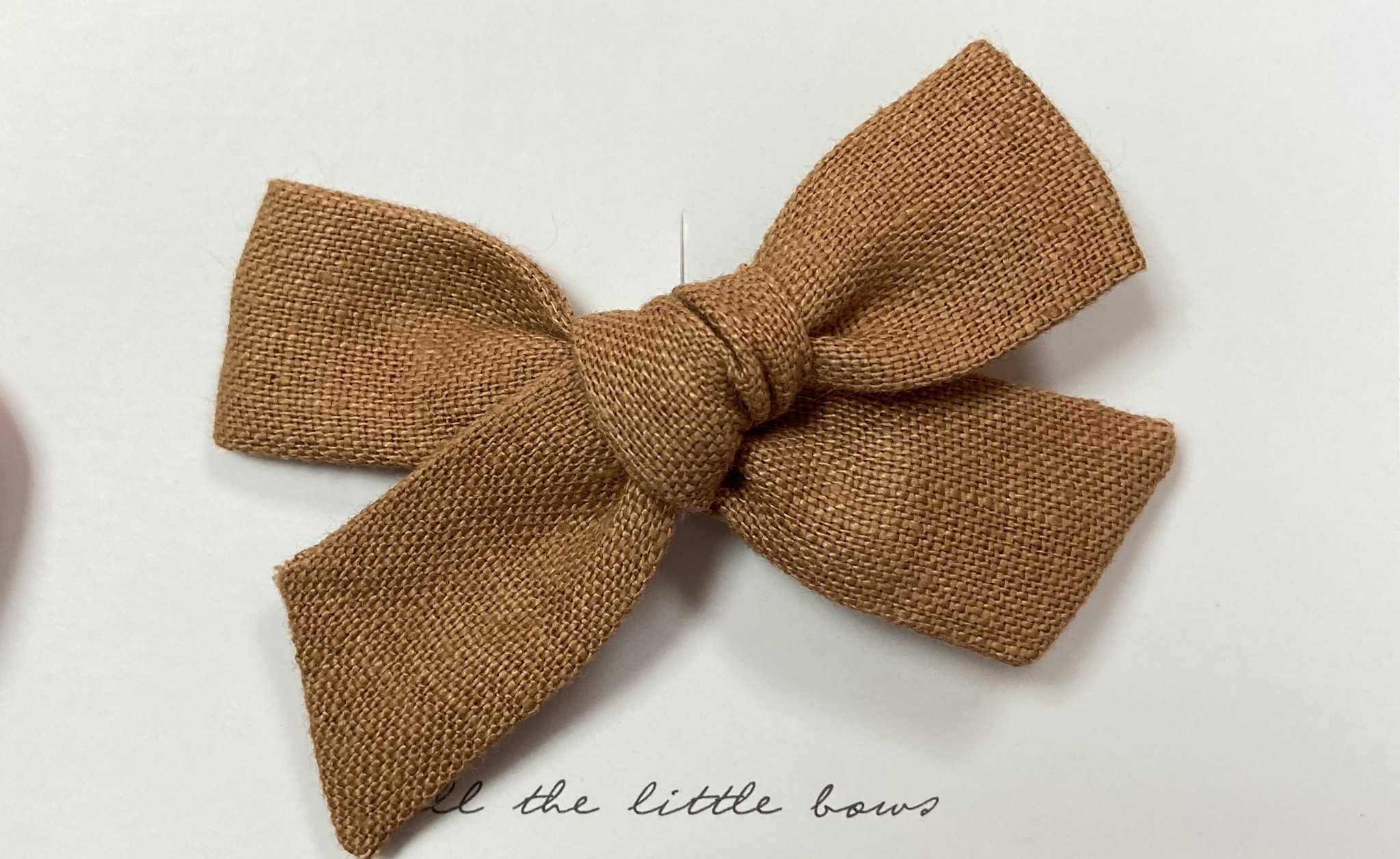 All the Little Bows All The Little Bows Classic Knot Clip