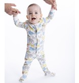 Magnetic Me Magnetic Me Organic Cotton Footie - Zoo Crew