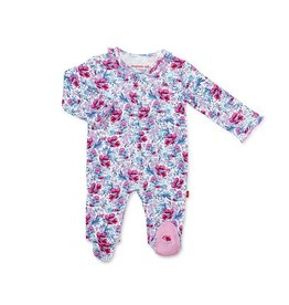 Magnetic Me Magnetic Me Organic Cotton Footie - Darlington Floral