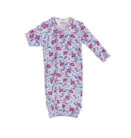 Magnetic Me Organic Gown Set (0-3mo) - Darlington Floral