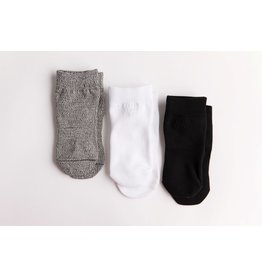 Squid Socks Squid Socks - Casey Collection (Grey, White, & Black Solids)