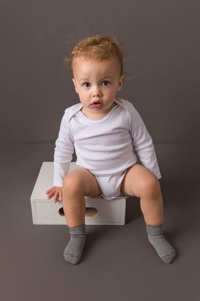 Squid Socks Squid Socks - Casey Collection (Grey, White, & Black Solids)