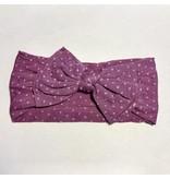 Sugar + Maple Sugar + Maple Classic Stretchy Baby Bow Headband Dots