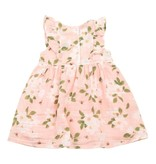 Angel Dear Ruffle Muslin Dress + Bloomer Set - Pink Magnolias