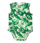 Angel Dear Tropical Leaves Uni Bodysuit