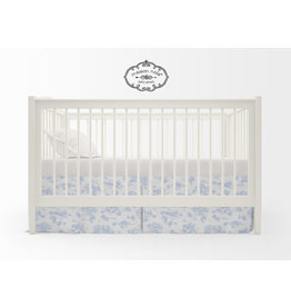 Maison Nola Storyland Toile Crib Skirt