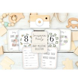 Cherished Ink Louisiana Roots Baby Milestone Cards