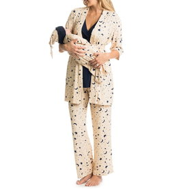 Everly Grey Everly Grey Analise 5-Piece Mom & Newborn Baby PJ Set - Twinkle