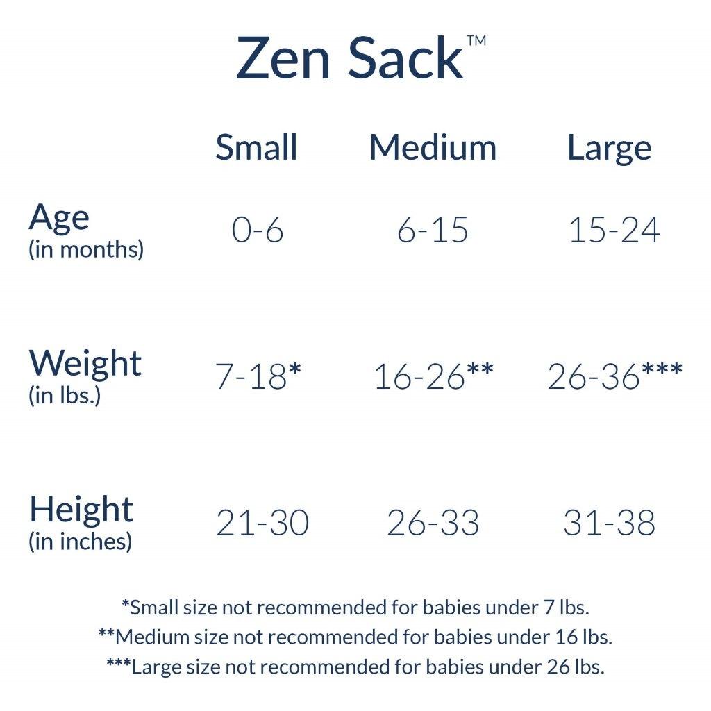 Nested Bean Nested Bean Zen Sack - Oh Me Oh My White