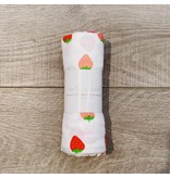 Nola Tawk LA Strawberries Muslin Blanket