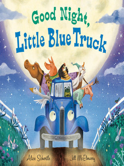 Books Good Night Little Blue Truck