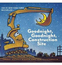 Books Good Night Good Night Construction Site (board book)