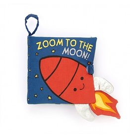 Jellycat Zoom to the Moon fabric book