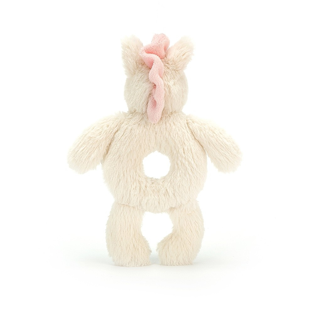 Jellycat Jellycat Bashful Unicorn Ring Rattle