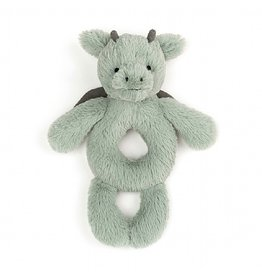 Jellycat Jellycat Bashful Dragon Ring Rattle