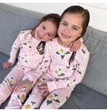 Little Hometown Southern Pink Magnolia Pajamas