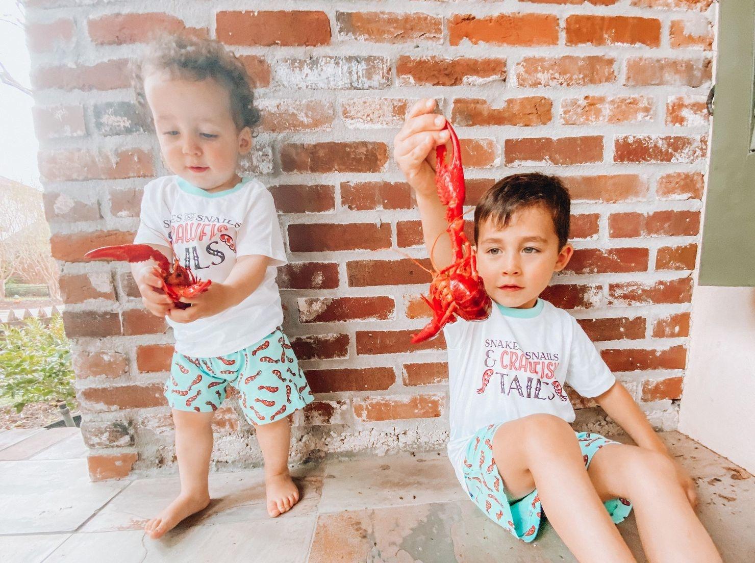 Little Hometown Crawfish Tails - Boy Pajamas