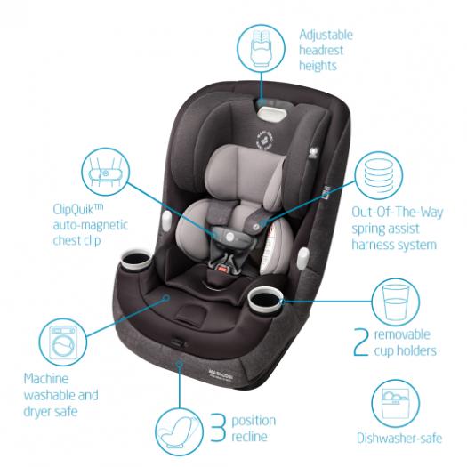 Maxi-Cosi Maxi-Cosi Pria Max 3-in-1 Convertible Car Seat