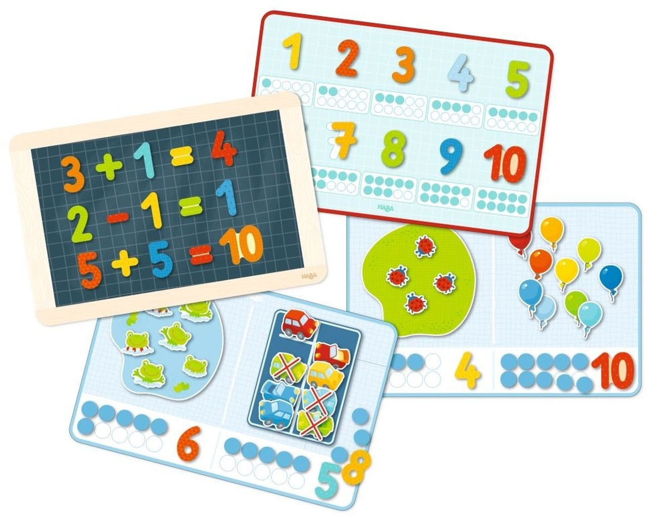 HABA Magnetic Game Box 1 2 Numbers and You