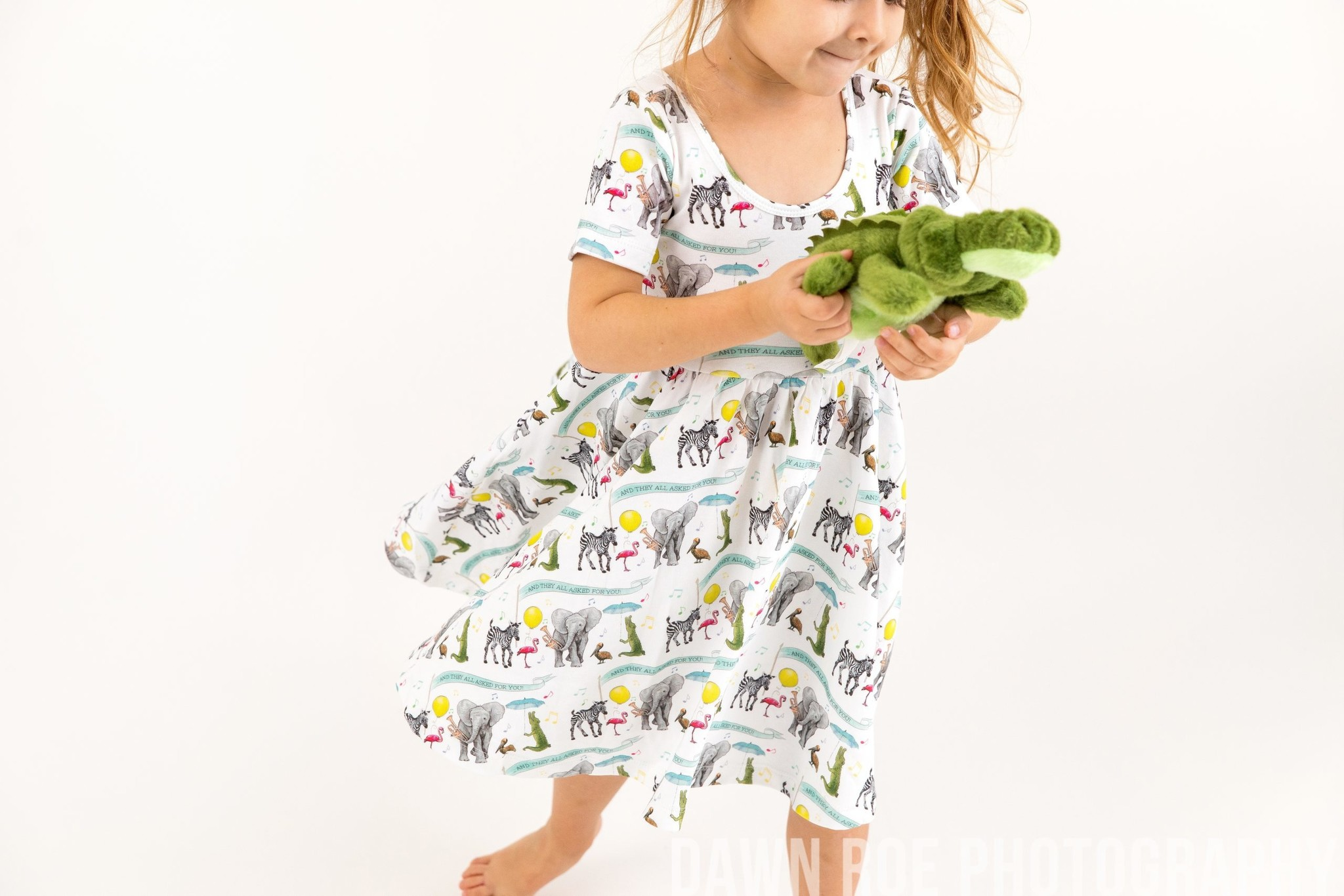Nola Tawk They All Asked for You Organic Cotton Dress