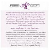 Andi Lynn's Andi Lynn's Pure Blend Elderberry Syrup