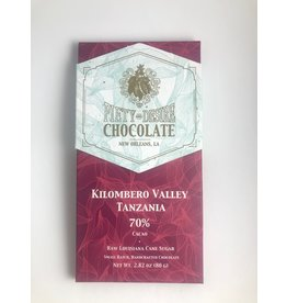 Piety & Desire Piety & Desire Local Dark Chocolate Bar - 70% Kilombero Valley, Tanzania