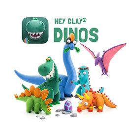 Fat Brain Toys Hey Clay - Dinosaurs (in store/curbside exclusive)