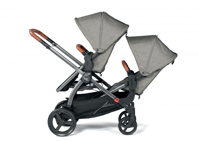 Peg Perego Agio by Peg Perego Z4 Stroller Companion Seat