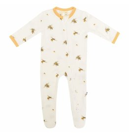 Kyte Baby Kyte Baby Bamboo Zippered Footie - Buzz