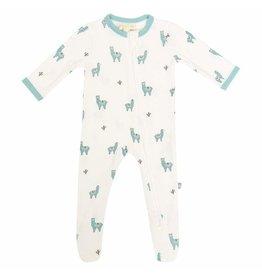 Kyte Baby Kyte Baby Bamboo Zippered Footie - Alpaca